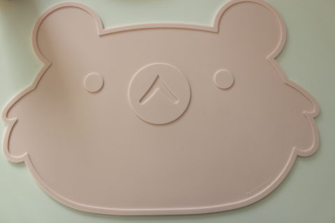 set de table koala rose