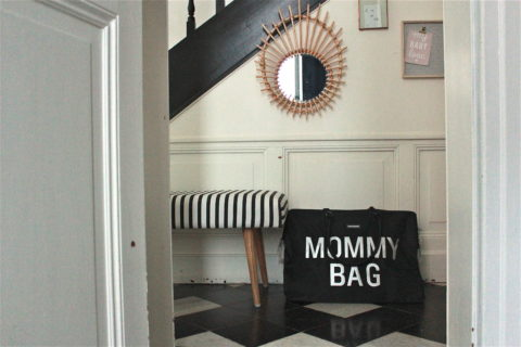 Sac à langer - mommy bag noir